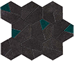 Atlas Concorde Boost +29537 Мозаика BOOST TARMAC MOSAICO HEX JADE, 25x28,5